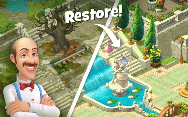 play gardenscapes for free