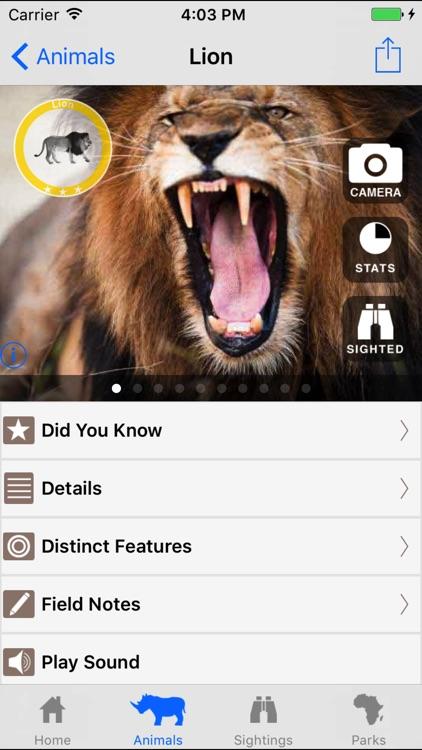 African Safari Tracker: Animal and Wildlife Guide