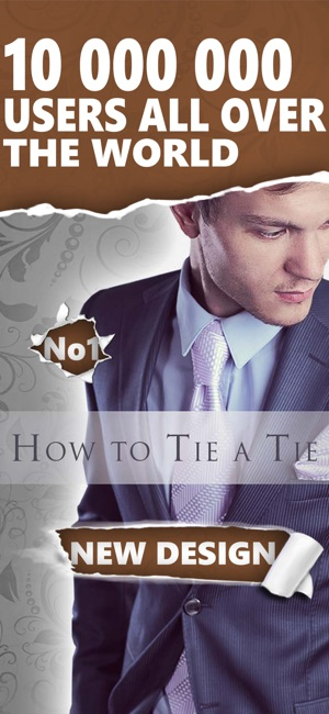 How to tie a tie fast and easy on the app store screenshots ccuart Image collections