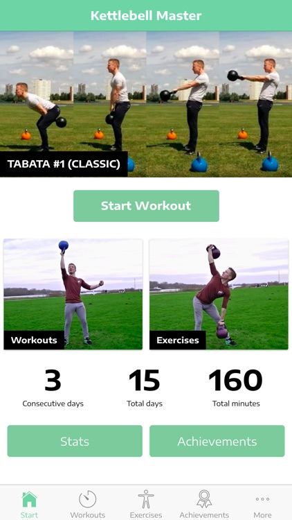 Kettlebell Exercise Guide PRO screenshot-0