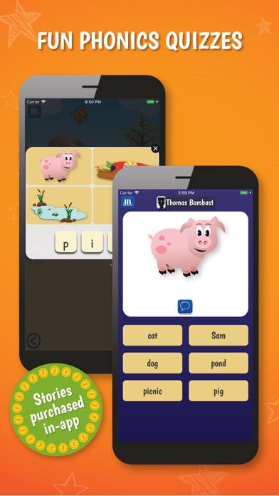 PocketPhonics (stories as IAP) screenshot four