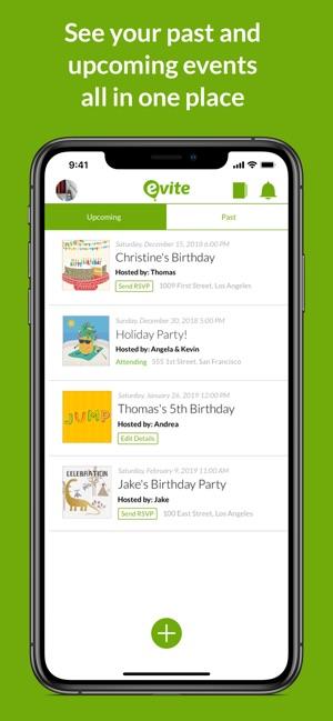 Evite Online Invitations Im App Store