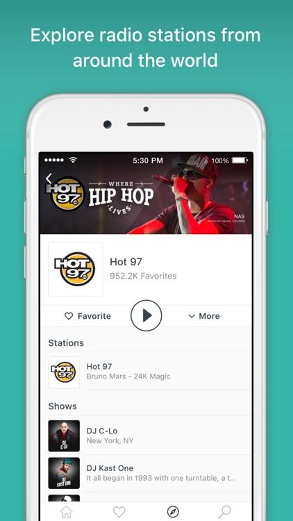 TuneIn - Stream Radio & NFL screenshot-4
