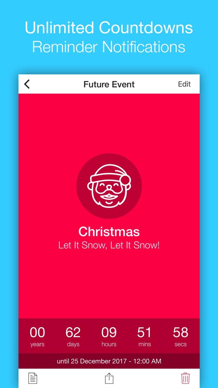 Event Countdown Lite Screenshot