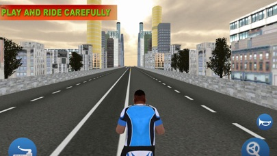Bicycle In Traffic screenshot one