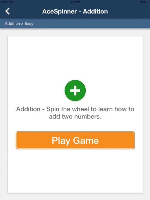 Ace Spinner Math Games screenshot 9