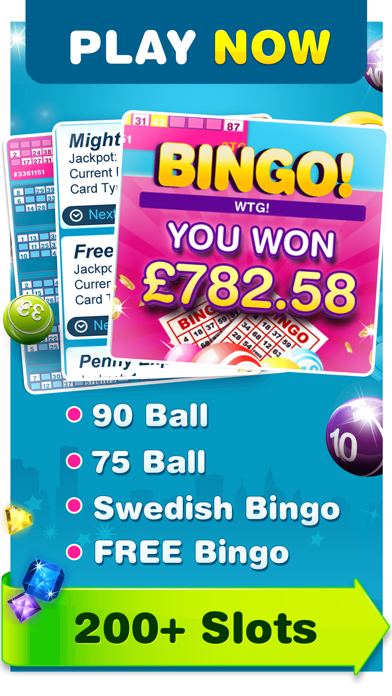 Moon Bingo - Real Money Slots screenshot two