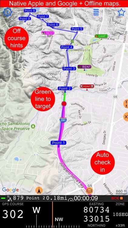 Compass 55. Map & GPS kit. screenshot-5