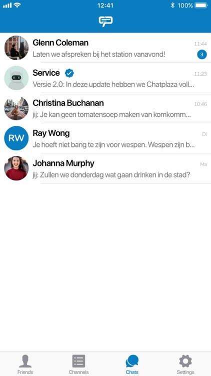 ChatPlaza screenshot-1