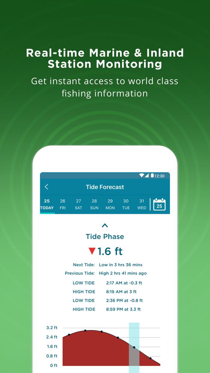 Fishing Spots - Angling Map Screenshot
