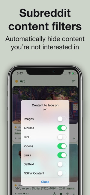 Slide for Reddit on the App Store