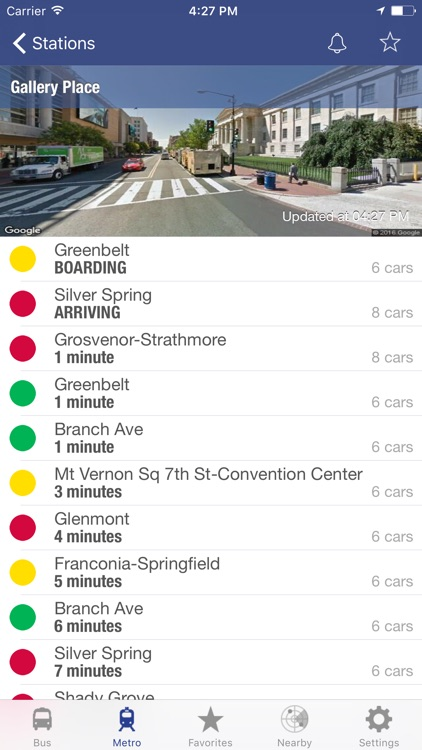 DC Metro and Bus screenshot-0