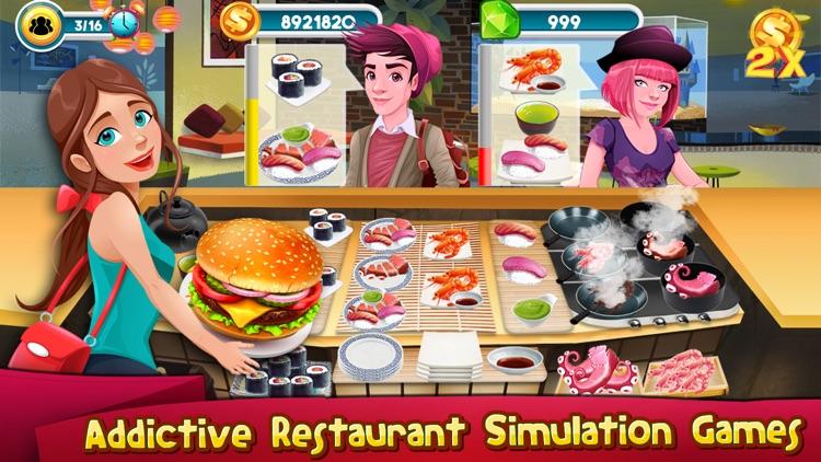 Cooking Games Kitchen Rising
