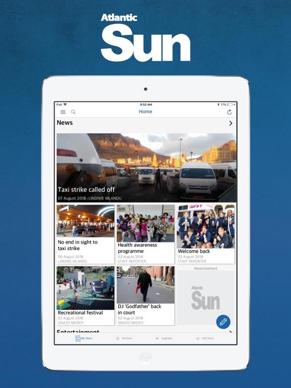 iPad Image of Atlantic Sun