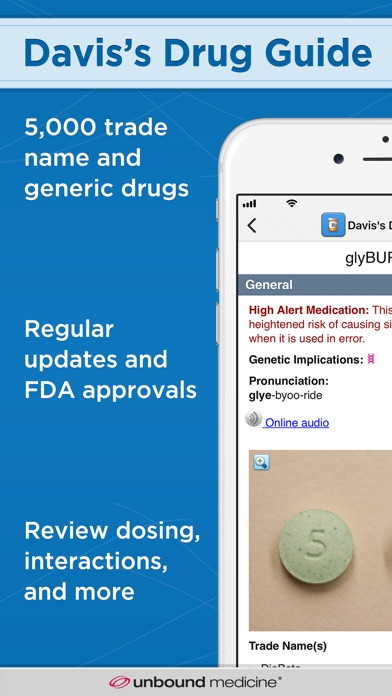 Daviss Drug Guide review screenshots