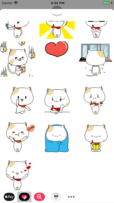Cool Cat Animated Stickers screenshot two