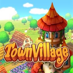 Town Village: Farm Build Trade