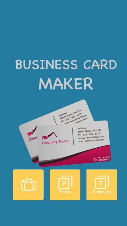 Business Card Maker Pro screenshot-0
