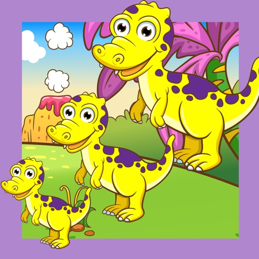 A Dino-saur Kids Sort-ing Game with Fun-ny Tasks: Animal-s & Happy Pets Play & Learn