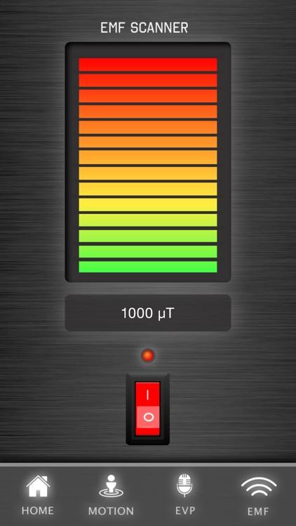 Ghost Tracker EMF EVP Recorder screenshot-3