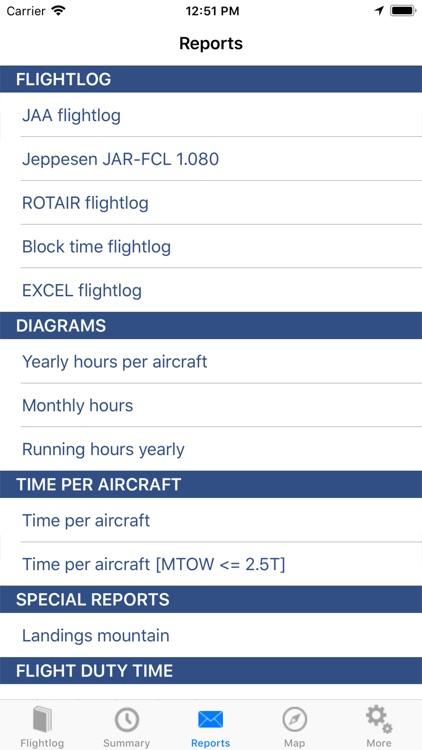 ROTAIR FlightLog screenshot-4