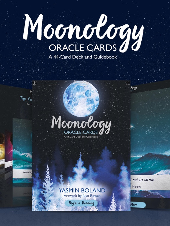 Moonology Oracle Cards screenshot 6