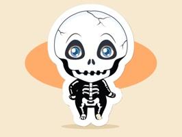 Lovely Halloween Coming Soon Sticker-萬聖節來了