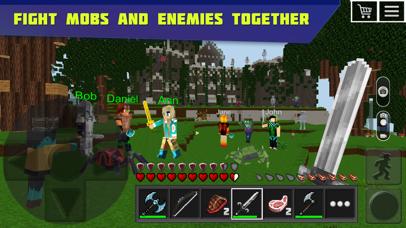Planet of Cubes Survival Craft Screenshots