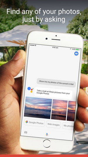 google assistant app store