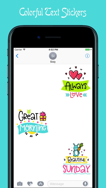 Colorful Quotes Stickers