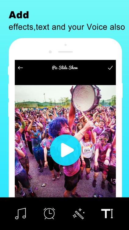 Mix Music Photo Video Editor screenshot-3