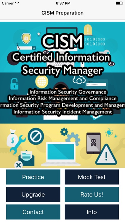 cism preparation guide 2017 by 1x1 apps limited rh appadvice com best cism prep guide the cism prep guide mastering the five domains of information security management