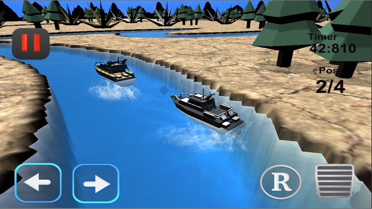 Fun racing games - jetski boat screenshot-3