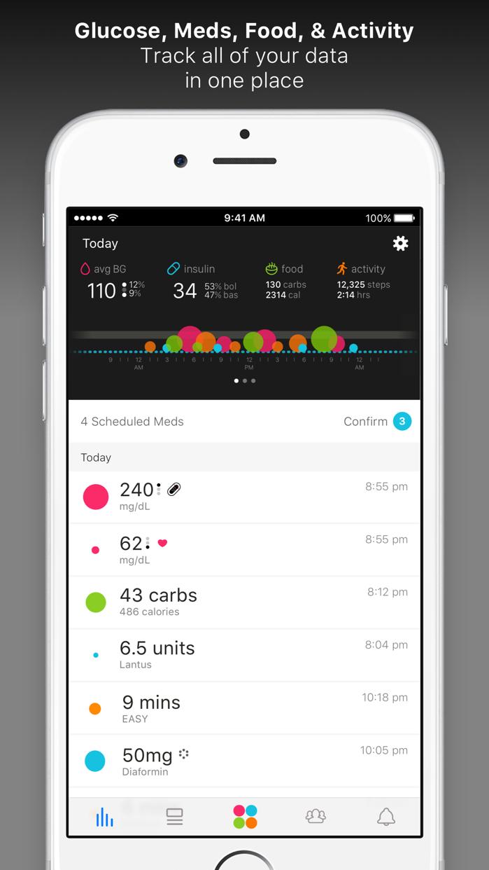 One Drop Diabetes Management Screenshot