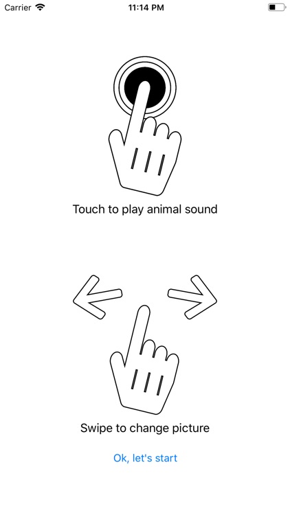 Animal pictures with sound