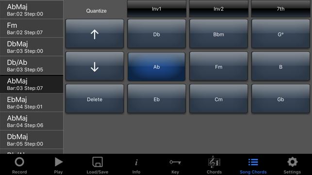 Simple songwriter app