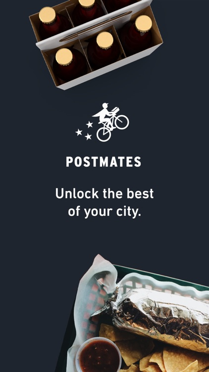 Postmates - Food Delivery, Faster screenshot-0