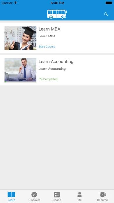 Learn MBA and Accounting screenshot one