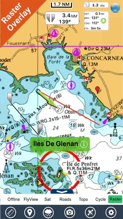 Boating New Caledonia HD chart