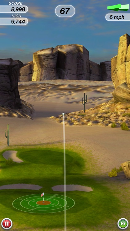 Flick Golf! screenshot-2