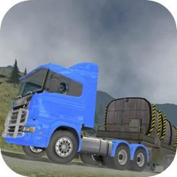 Truck Hill Driving Simulator