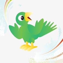 Birdish Stickers Animated