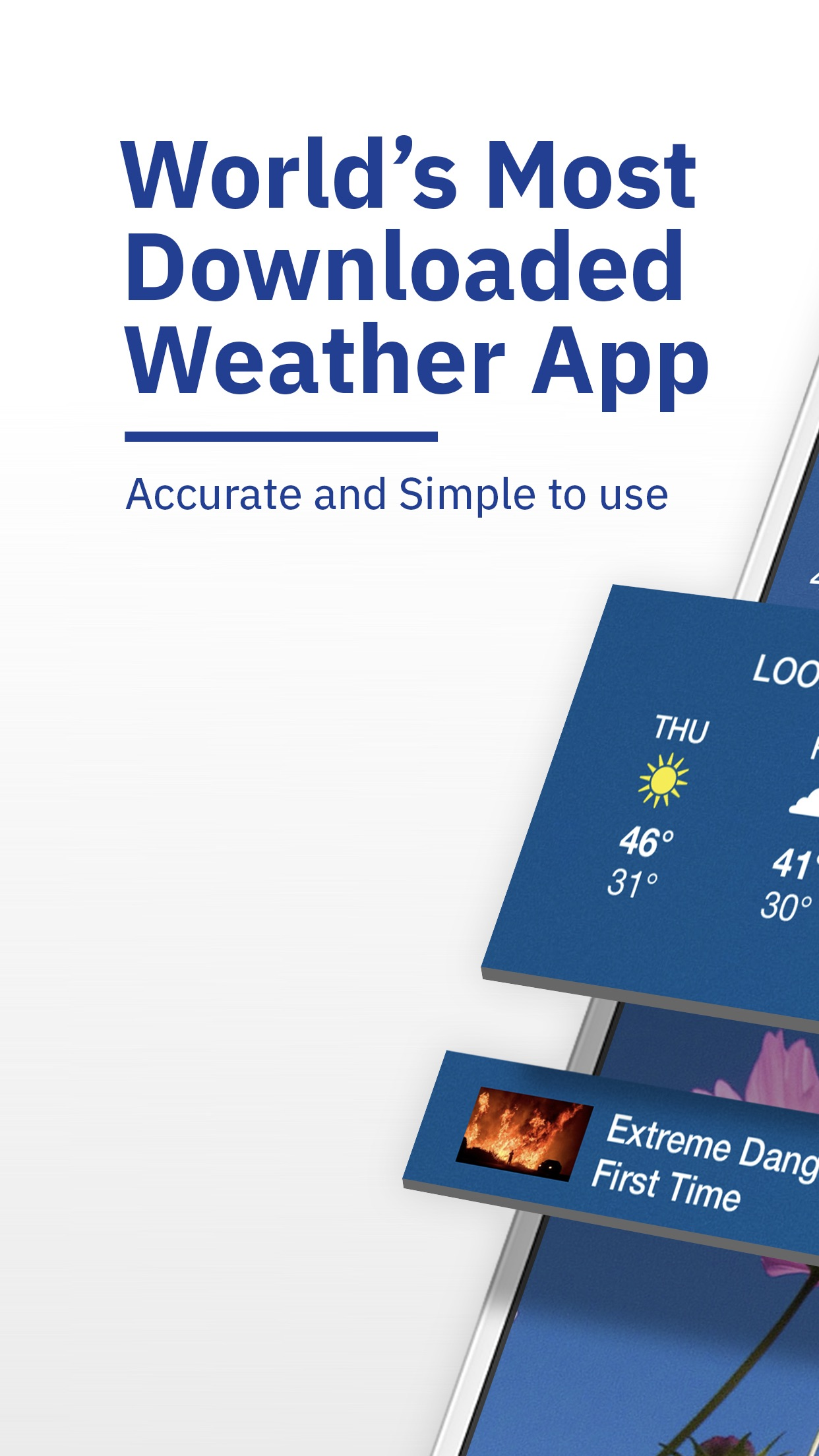 The Weather Channel: Tracker Screenshot