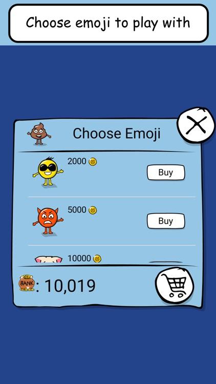 Emoji Game - Tap, jump, find food... and don't die