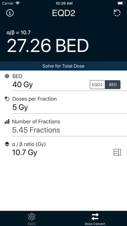 EQD2 Calculator screenshot-3