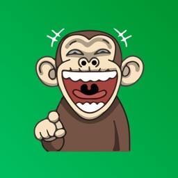 Penny the Naughty Monkey Emoji