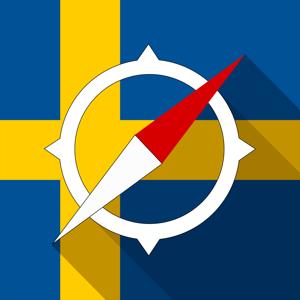 Sweden Offline Navigation app