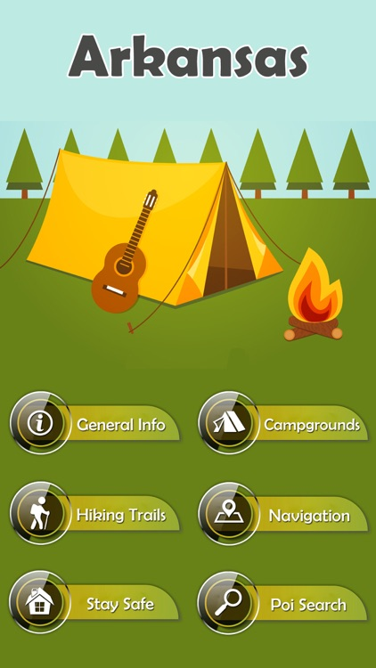Arkansas Campgrounds & Trails