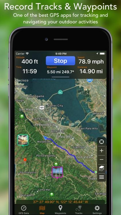 GPS Tracks screenshot-0