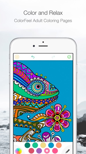 ColorFeel Coloring Book On The App Store